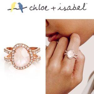 🆕 La Vie En Rose Double Band Ring c+i R102RG-6/7